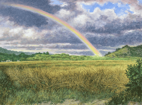 Kira's Rainbow-Giclee on Paper