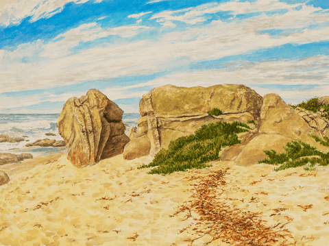 Ribera Rocks-Giclee on Paper