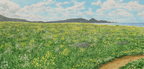 Spring Fields-Giclee on Paper
