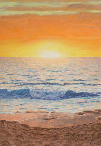 Card-Sun and Wave-by Edmund Moody