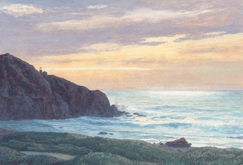 Lights of Point Sur-Giclee on Paper