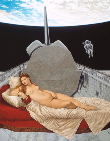 Venus of the Shuttle- Giclée on Canvas