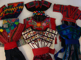 Mayan Doll Clothes from Patzun, San Juan La Laguna, Solola and other Guatemala Towns