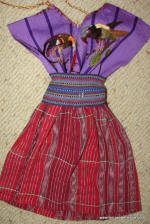 "Doll - Santiago Atitlan 18""  Doll Outfit  (3 Color Options)"
