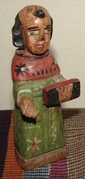 Santos:  Small - San Antonio Wood Carving  (approx. 5