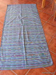 Corte - Multicolored Jaspe Skirt from San Juan Laguna Guatemala C_MJ_001