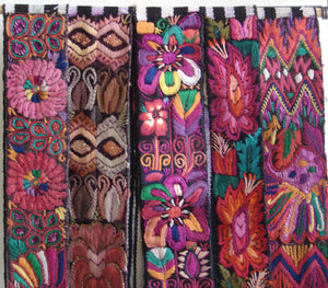 Chichicastenago Sash Belts or Fajas from Guatemala - Rack 18A