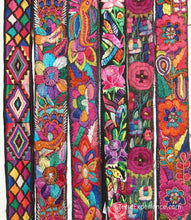 Chichicastenago Sash Belts or Fajas from Guatemala - Rack 18D