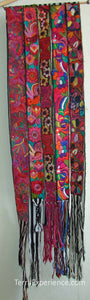 Chichicastenago Sash Belts or Fajas from Guatemala - Rack 18E