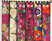 Chichicastenago Sash Belts or Fajas from Guatemala - Rack 18F