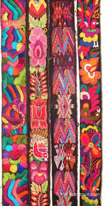 Chichicastenago Sash Belts or Fajas from Guatemala - Rack 18G