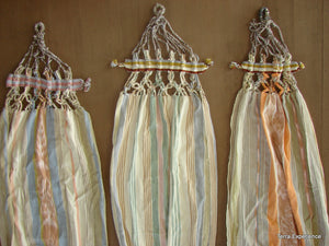 Doll Hammocks, Natural Dye  /