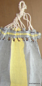 Doll Hammock,  Cotton Handwoven on Back-strap Looom