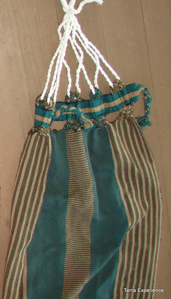 Doll Hammocks,  Cotton Handwoven on Back-strap Looom