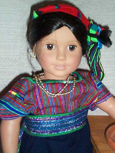 "Doll Hats, ""Cintas"" / Head Ribbons from San Antonio Palopo"
