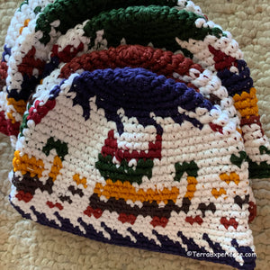 "Doll Hat, ""Gorras"" from Chichicastenango with Animal Designs fit American Girl Doll"