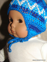 "Doll Hats,  ""Gorras"" ""Chavo"" Style Crocheted Hat with Flaps (many colors)"