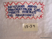 "Mayan Embroidered Folk Art Tapestry 15-34:    ""El Procession"" ( The Procession),  Marta Morales"