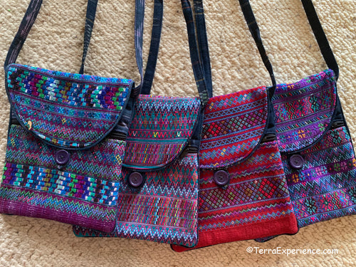 Bags:  Todos Santos Two-Sided Tapestry Shoulder Bags by Francisco  (5 Colors)