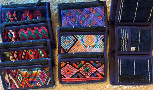 Wallets: Chichicastenango and Nahuala, 3-fold by Francisco