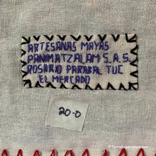"Mayan Embroidered Folk Art Tapestry 20-O:  ""El Mercado"" (The Market) - Rosario Parabal Tuc"
