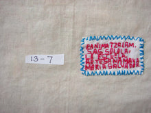 "Mayan Embroidered Folk Art Tapestry 13-07:    ""La Escuela"" (The School), Maria Salvador"