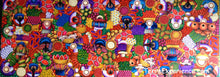 "Angelina Quic Large Oil Painting - Mayan Market Overhead  (P-VL-AQ-19G) 30""x80"" (VERY LARGE)"