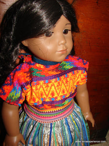 "San Antonio Agua Calientes 18"" Doll Outfit"