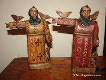 Santos:  Medium - San Francisco de Aisi  (Saint Francis) Wood Carving (3 Color Options)