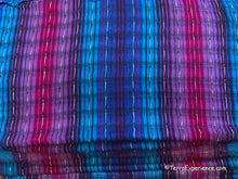 "Scarves: Beautiful Woven Cotton Scarves 11"" x 50"" from San Antonio Palopo, Guatemala"
