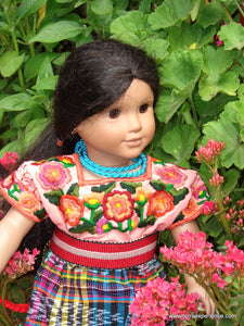 "San Christopal Totonicapan 18"" Doll Outfit (2 color options)"