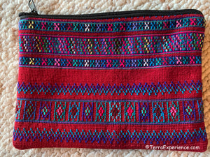 "Bags: Todos Santos 8"" x 6"" Zippered Bags by Francisco  (Many Colors)"