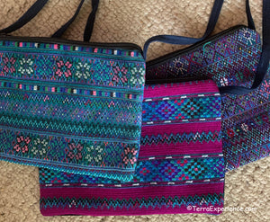 "Bags:  Todos Santos 10"" x 7"" Zippered Shoulder Bags by Francisco  (Many Colors)"