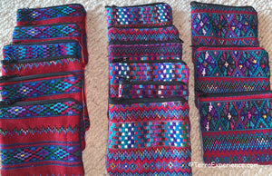 "Bags: Todos Santos 4"" x 4"" Zippered Coin Bags by Francisco  (Many Colors)"