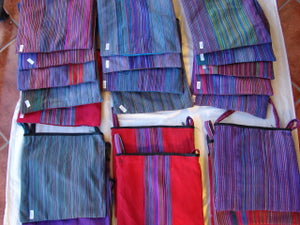 "Bags:  Todos Santos 12"" x 12"" Zippered Shoulder Bags by Francisco  (Many Colors)"