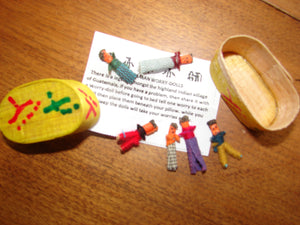 Worry Dolls or Trouble Dolls - A fun gift for everyone especially in 2020