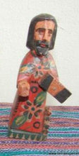 "Santos:  Small - Jesus (?) Wood Carving  ( approx. 5"")"