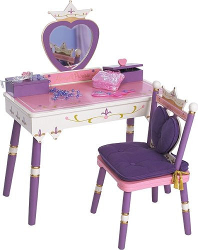 Princess Vanity Table & Chair Set Princess
