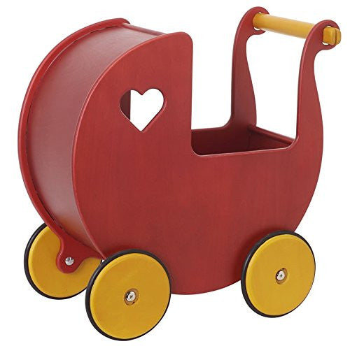 HABA Moover Doll Pram Red