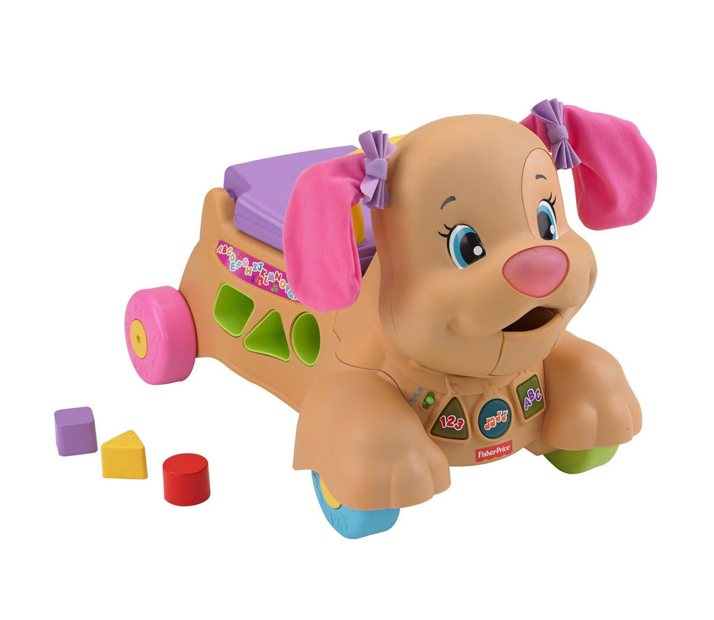 Fisher-Price Laugh and Learn Puppy Sis Stride-to-Ride Standard Packaging (Girl)