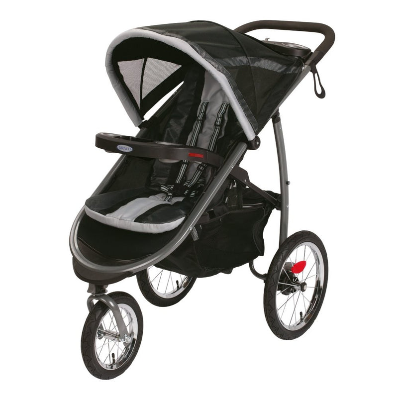Graco Fastaction Fold Jogger Click Connect Stroller Gotham