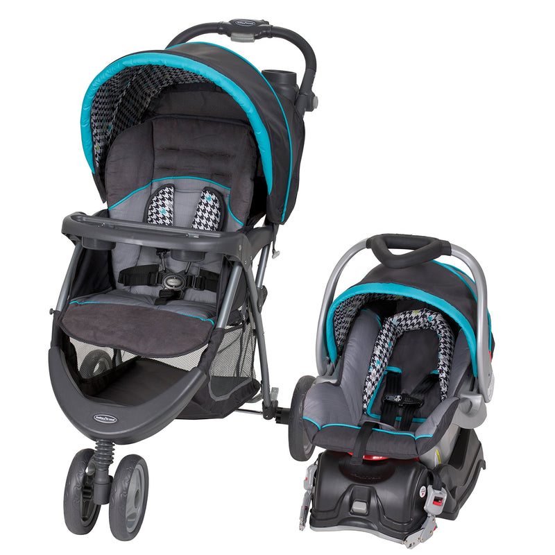 Baby Trend EZ Ride 5 Travel System Hounds Tooth