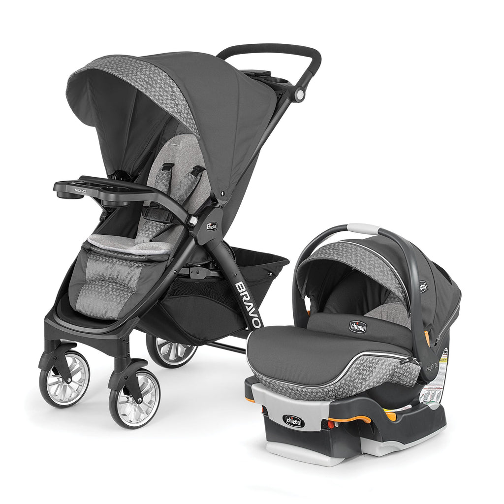 Chicco Bravo LE Travel System Silhouette