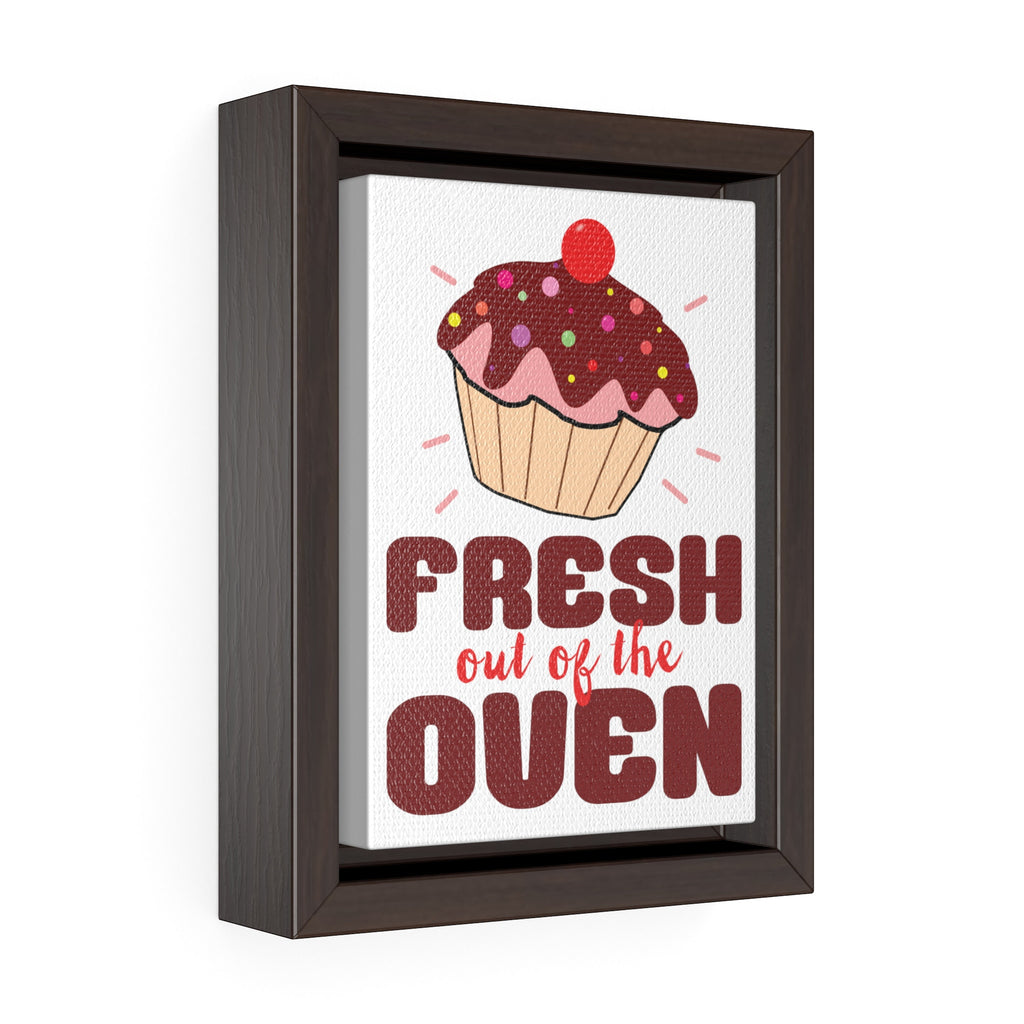 """Fresh Out of the Oven"" Framed Premium Gallery Wrap Canvas"