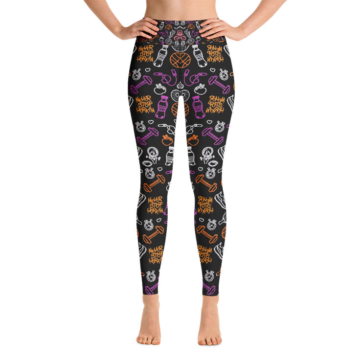 Fitness is Fun Leggings