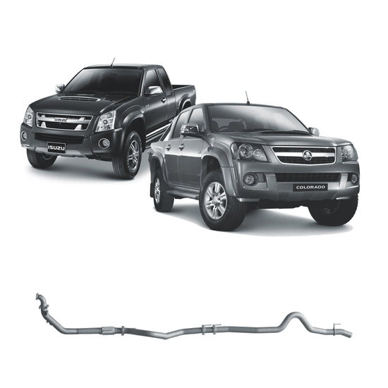 Redback 4x4 Extreme Duty Exhaust to suit Holden Colorado (03/2008 - 06/2012), Rodeo (01/2007 - 06/2008), Isuzu D-MAX (01/2007 - 08/2012)