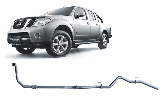 Redback 4x4 Extreme Duty Performance Exhaust to suit Nissan Navara (01/2011 - 07/2015)