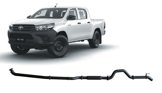 Redback 4x4 4X4 PERFORMANCE EXHAUST to suit Toyota Hilux (2015 - 2019)
