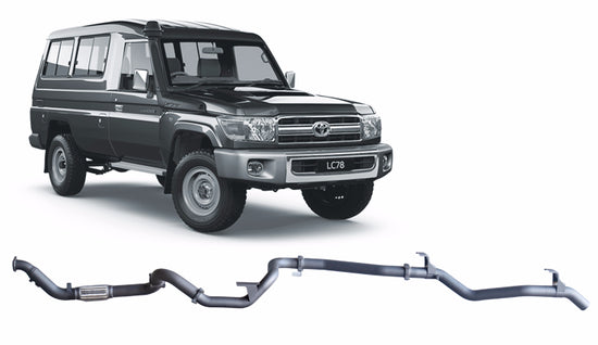 Redback 4x4 Extreme Duty Performance Exhaust to suit Toyota Landcruiser (03/2007 - 08/2016)