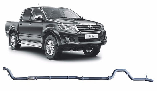 Redback 4x4 Extreme Duty 4X4 PERFORMANCE EXHAUST to suit Toyota Hilux (2005 - 2015)